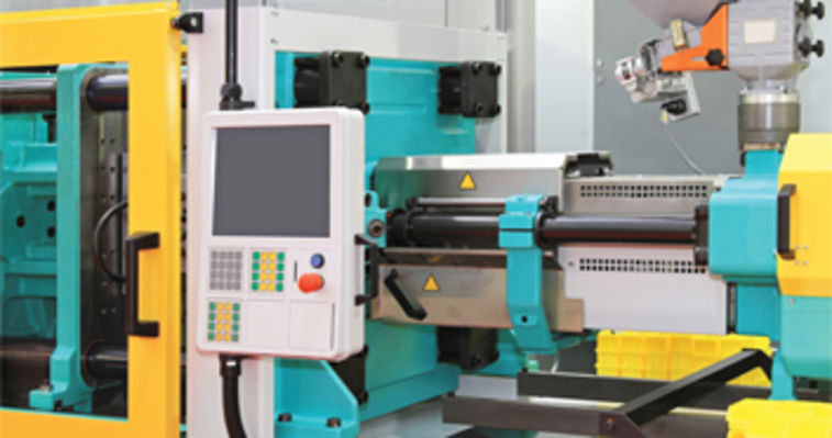 yellow injection molding machine